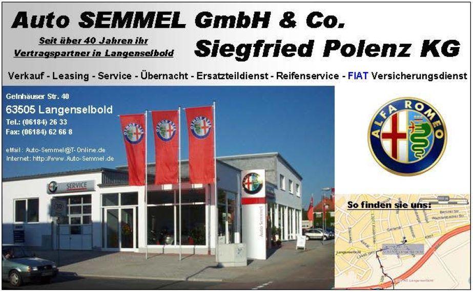 Logo Auto Semmel GmbH & Co Siegfried Polenz KG