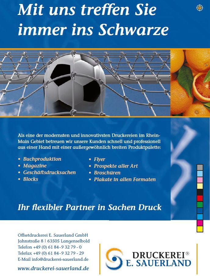 Logo Druckerei E. Sauerland GmbH