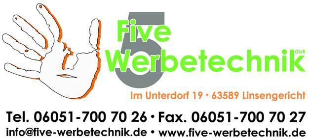 Logo Five Werbetechnik GbR