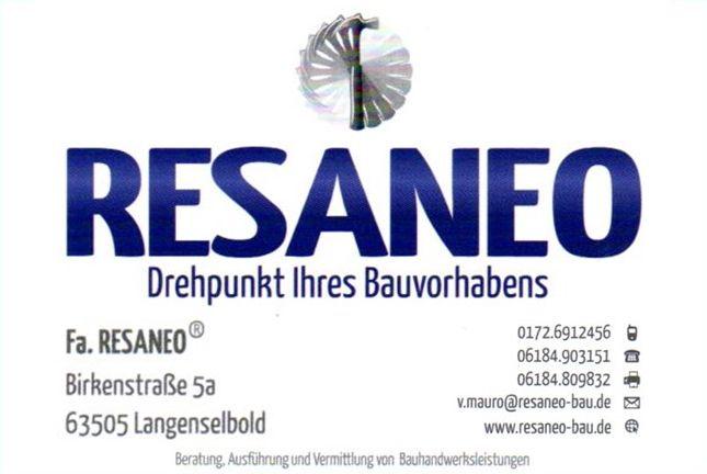 Logo Fa. RESANEO ® Inh. Vincenzo Mauro