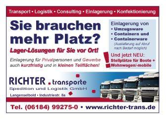 Logo RICHTER.transporte Spedition und Logistik GmbH