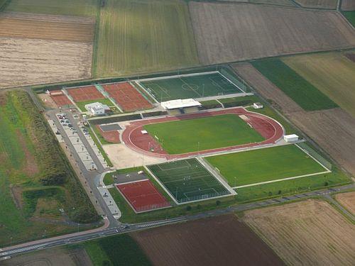 Luftaufnahme Sportzentrum